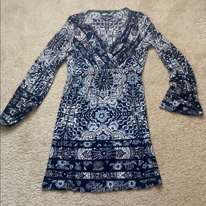 This is a comfy patterned dress from Venus.